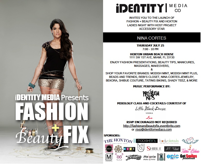 Fashion + Beaty Fix Invite
