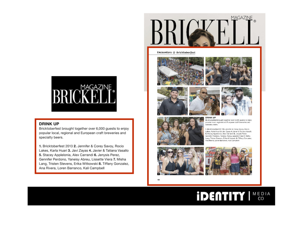 Press Clipping - Brickell Magazine