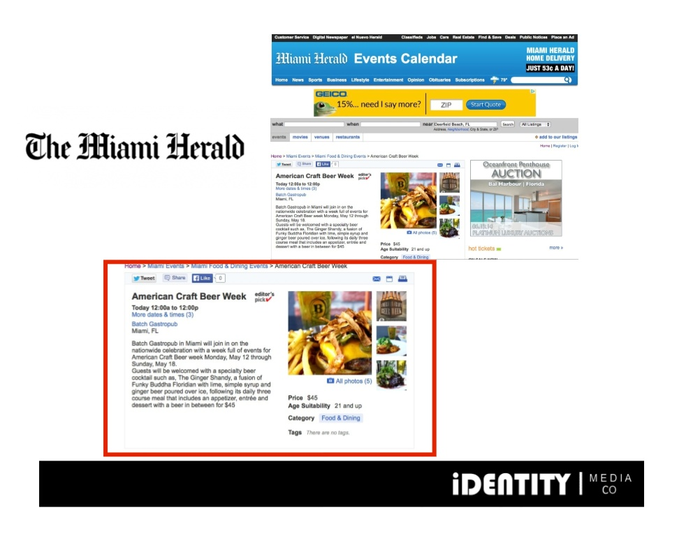BATCH the miami herald