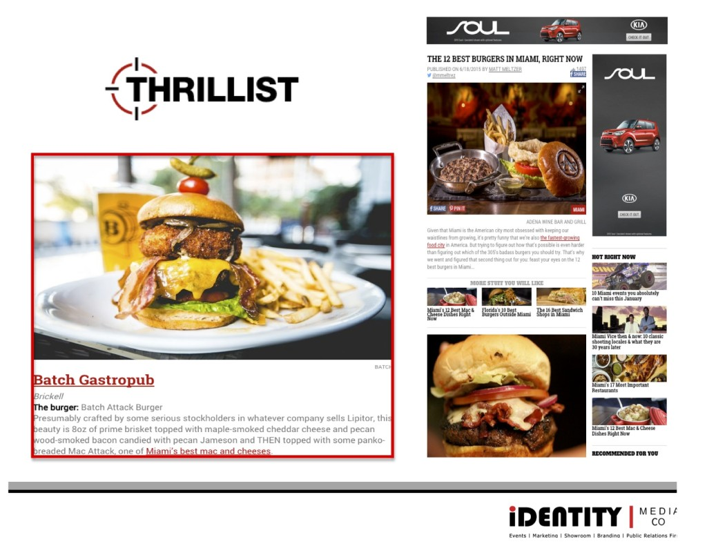 Best Burger Feature Thrillist
